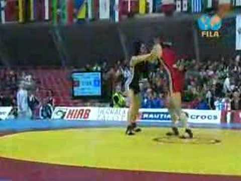 2008 European Championships FW 72Kg 1/8 Final 1