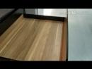 Леграбокс от Блюм . Кухня с тонкими фасадами. В современном стиле