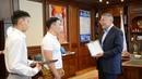 22-06-2018 Встреча А. Орлова с победителями чемпионата Европы и России по каратэ