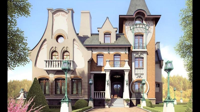 Дом в стилистике Гауди