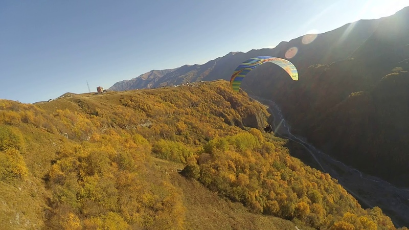 14102018 7gudauri paragliding полет гудаури بالمظلات، جورجيا بالمظلات gudauriparagliding com 4