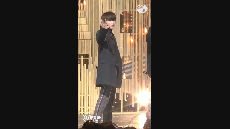 [FANCAM] 15.11.2018: BTOB - Beautiful Pain (Фокус на Ильхуна) @ M!Countdown