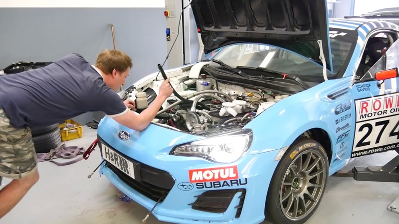 First start after engine rebuild Roots-Racing Subaru BRZ