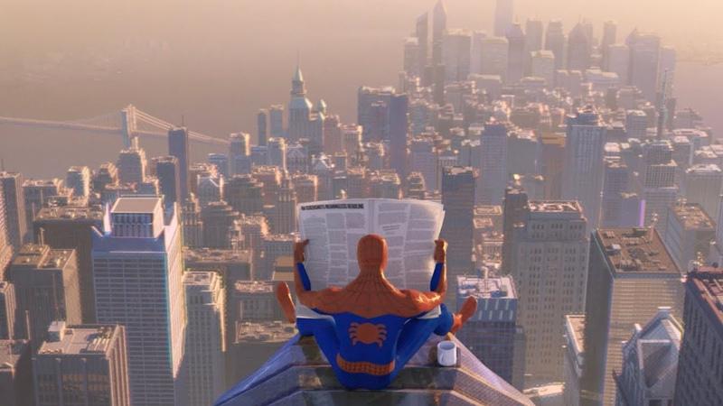 Человек-Паук Через вселенные - второй трейлер