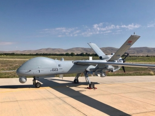 Турецкая бпла Anka-S поразил цель ракетой MAM-L в тестовых испытаниях