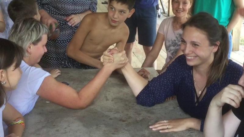 Корпоративный отдых с семьями на о. Шап  риелторы Йошкар- Ола