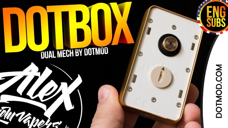 НОЙЗИК ДЛЯ БОГАТЫХ l dotBox Dual Mech I by DOTMOD l ENG SUBS l Alex VapersMD review 🚭🔞