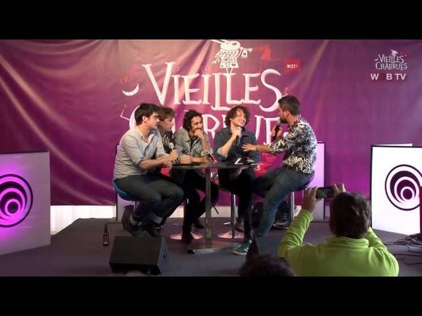 Conférence de presse : Feu! Chatterton