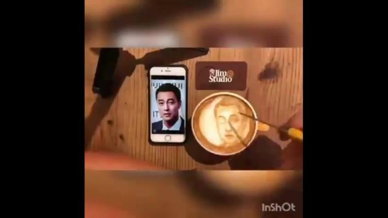 кофе бариста с Сопом