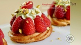 Raspberry Pistachio Cream Tart Bruno Albouze THE REAL DEAL