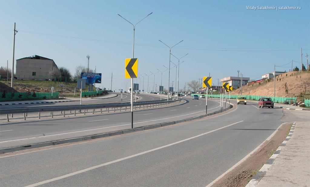 Дорога в Черняевке, маршрут Ташкент-Алматы 2019