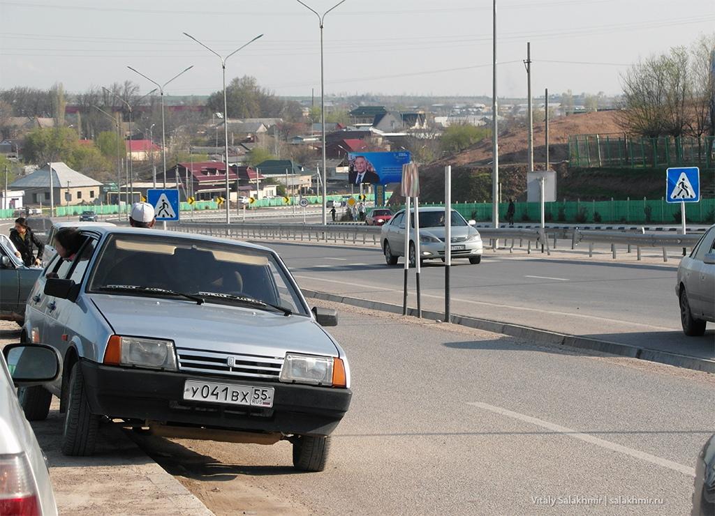 Панорама села Черняевка, Жибек-Жолы 2019