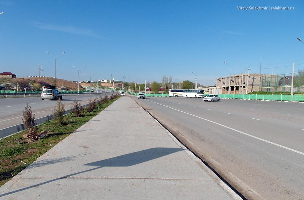 Дорога до автовокзала в Черняевке 2019