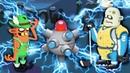ОХОТА НА ЗОМБИ с ЛОВУШКОЙ ТЕСЛЫ Мультик игра про охотников на зомби Zombie Catchers