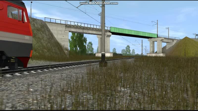 ЭП10-007 С вагоном Дефектоскопом