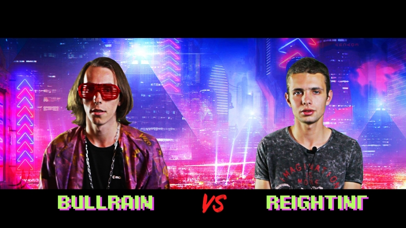 Arena Battle Rap BullRain vs REIГТINГ S1E4