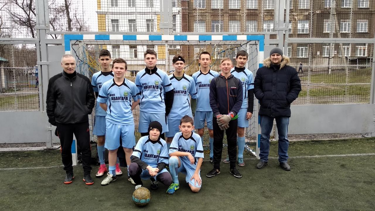 В Донецке прошла 1/8 финала Кубка школьной футбольной лиги