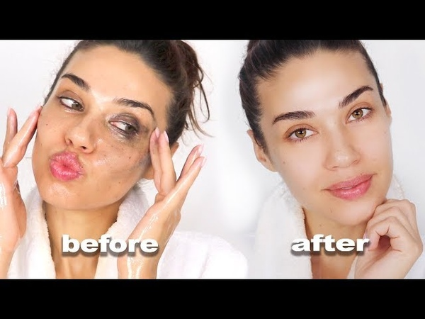 GET UNREADY WITH ME | How I Take My Makeup Off | Eman