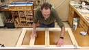 The Down to Earth Woodworker Bath Vanity Project Part 5
