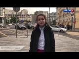 Участница конкурса «Синяя птица» Юлия Малинова присоединилась к флешмобу «России»