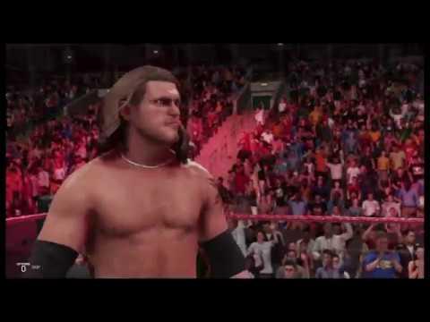 WWE 2K19 Edge vs Triple H Raw Is War '99 Steel Cage Match