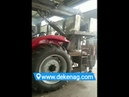 China farm tractor modified heavy duty crane under production