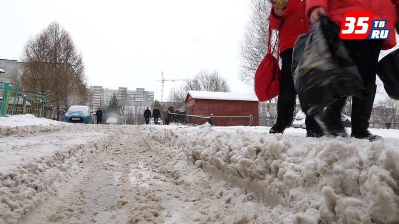 Бывало и хуже так прокомментировал мэр уборку снега в Вологде.
