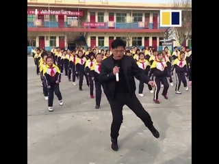 Bust a move – with your school principal