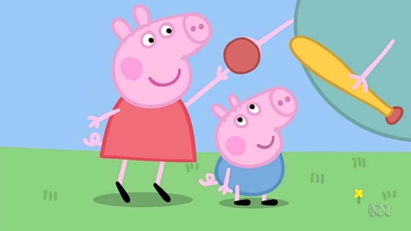 Peppa Pig - Garden Games (42 episode / 4 season) [HD]