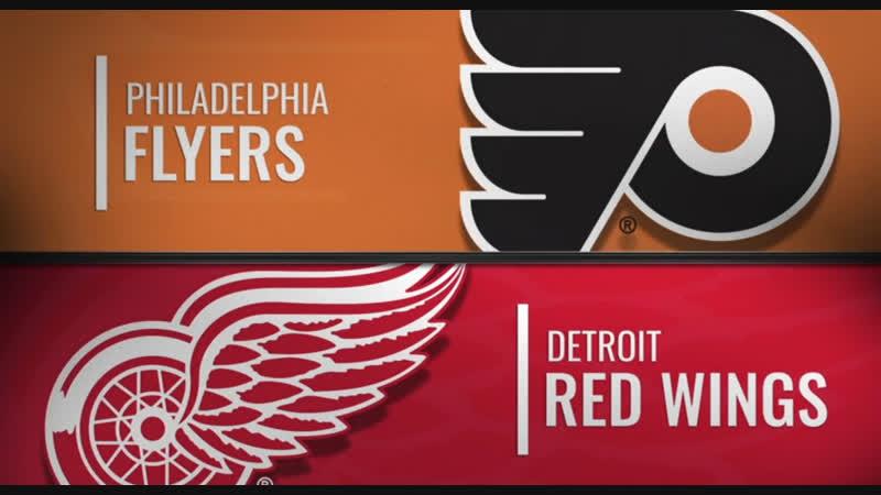 NHL Regular Season 2018-19 Philadelphia Flyers-Detroit Red Wings