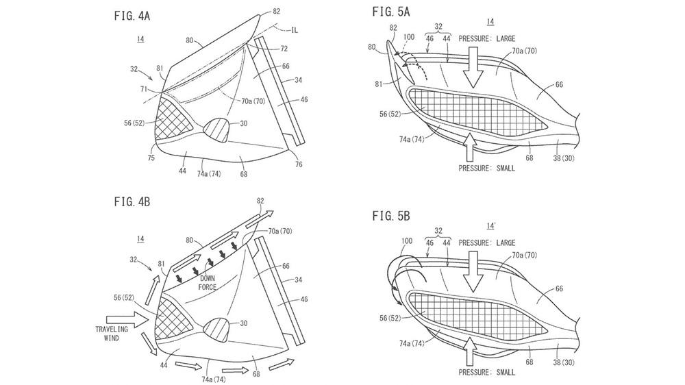 Компания Honda патентует крылья на зеркалах