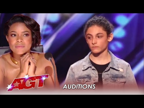 Benicio Bryant Judges Did NOT Expect This Shy Boy's Voice   Americas Got Talent 2019
