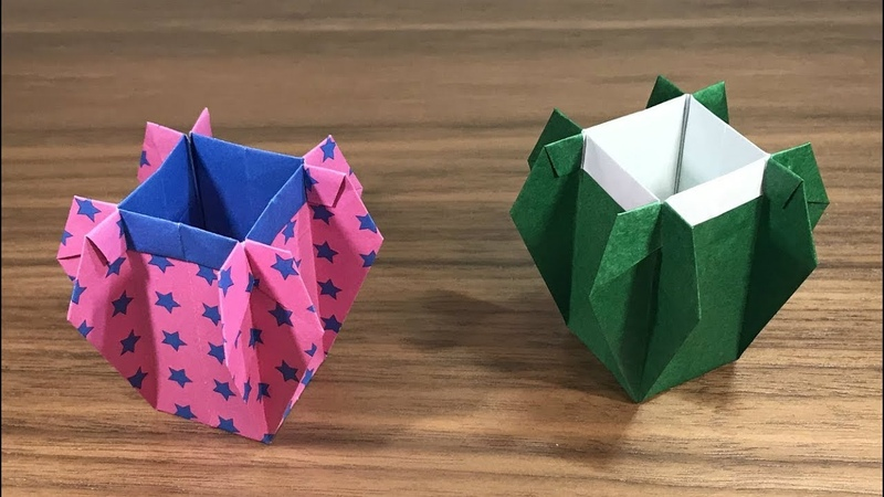 Origami Pen Stand
