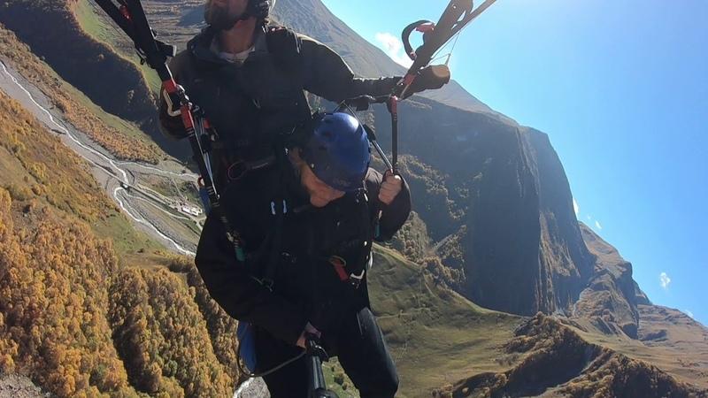 14102018 gudauri paragliding полет гудаури بالمظلات، جورجيا بالمظلات gudauriparagliding com 3