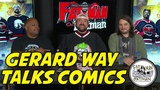 GERARD WAY TALKS COMICS
