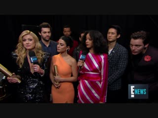 """""""Shadowhunters"""" Star Harry Shum Jr. Reveals Sex of Unborn Child ¦ E! Peoples Choice Awards"""
