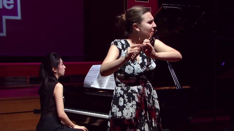 Eugène Bozza | Agrestide op. 44 par Irina Stachinskaya et Qiaochu Li