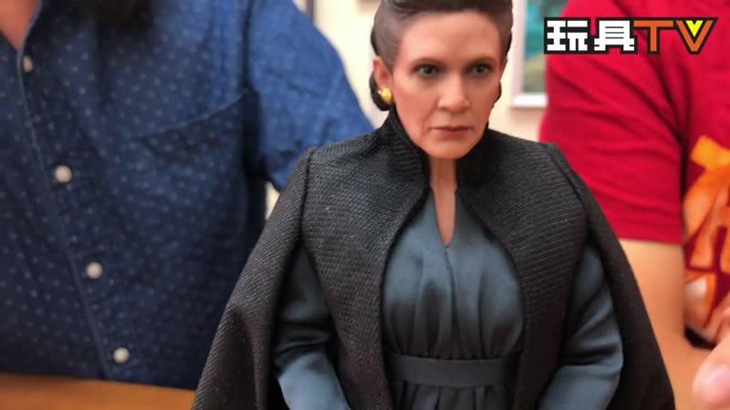 ToysTv Ch Hot Toys MMS459 Star Wars The Last Jedi Leia Organa 1 6