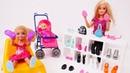 Novos sapatos para Chelsea. Barbie em Português Brasil. Vídeos de brinquedos para meninas.