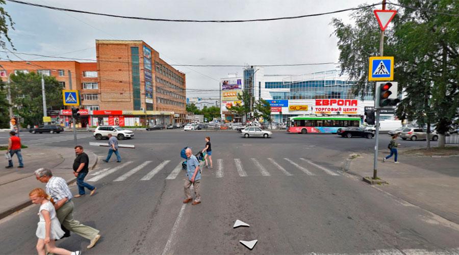 Левый поворот с улицы Ломакина на улицу Карла Маркса запретят