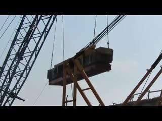 В витебске начался демонтаж полоцкого путепровода.
