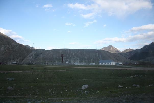 Ининский УЭС. Конкретно тут водонапорная башня Рожновского и электростанция.