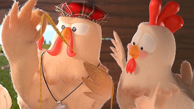 Muhteşem Tavuk Şarkısı - Çok Komik Çocuk Ve Bebek Şarkıları Minik Tvde