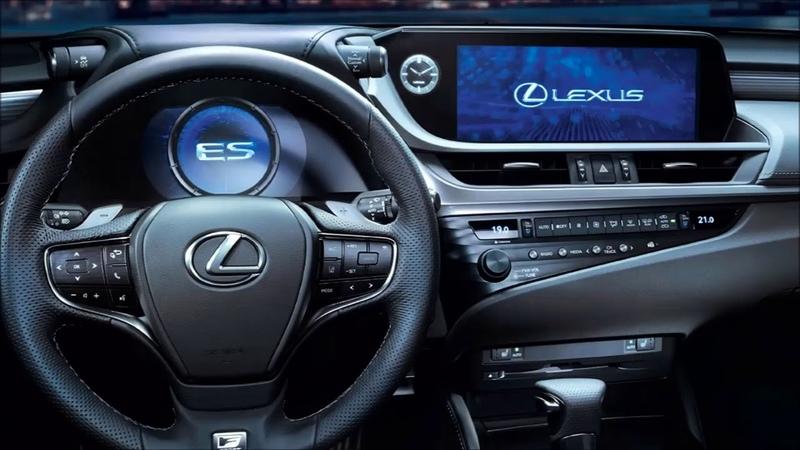 Lexus ES interior Exterior and Drive Sport Car