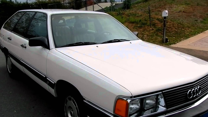 Audi 5000 S Kombi Station Wagon Break VW 5 Cylinder For Sale