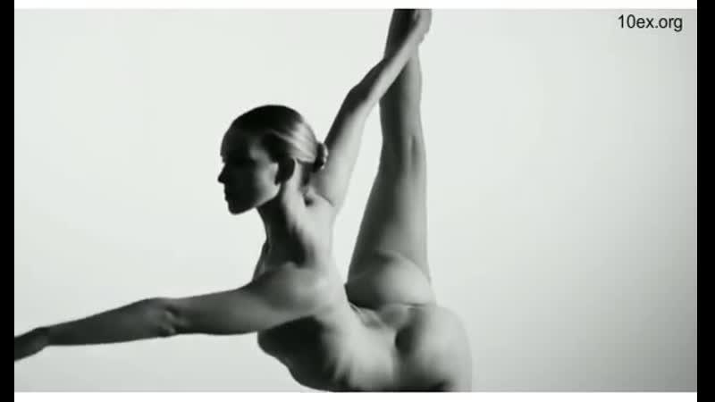 Nude Yoga Girl Обнаженная девушка йога