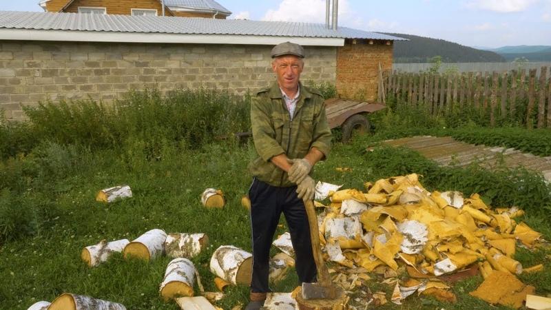 Прошелся с камерой по деревне. Реакции людей. Красота и первозданность Русской деревни.