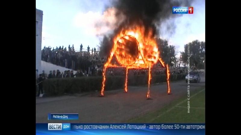 Каскадёры Ростова возрождают трюк занесен в книгу рекордов