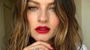 Current Faves (Макияж красные губы)