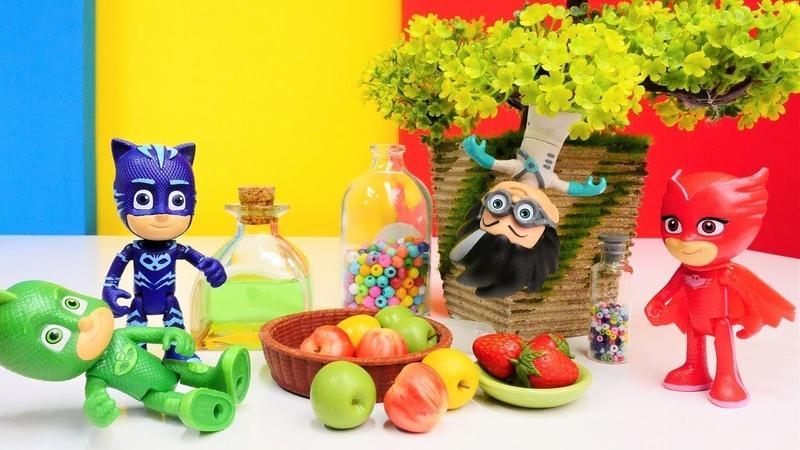 Die Pyjamahelden tricksen Romeo aus. PJ Masks Kinder Video.